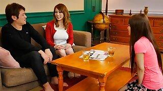 Maki Koizumi fucks her sister's boyfriend so good! - JapanHDV