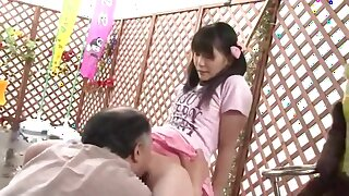 Father Fucks Lassie in Front of her Mother Yui Kasugano