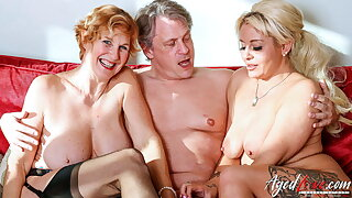 AGEDLOVE A handful of Blonde Ladies Have Fast Threesome Sexual intercourse