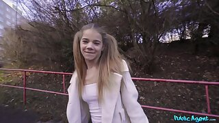 Teenager Babe Gives Bj In Forest 1 - Public Agent