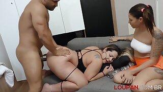 Hot latina curvy vixen energizing porn scene